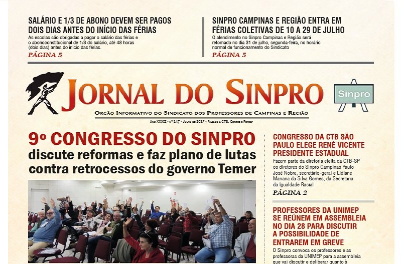 jpornal do sinpro